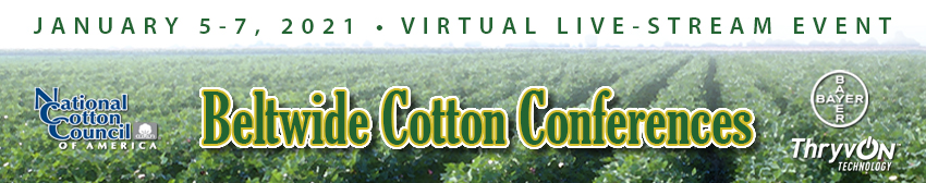 2021 Beltwide Cotton Conferences
